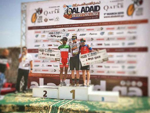شکری نایب قهرمان مسابقات دوچرخه سواری قطر شد