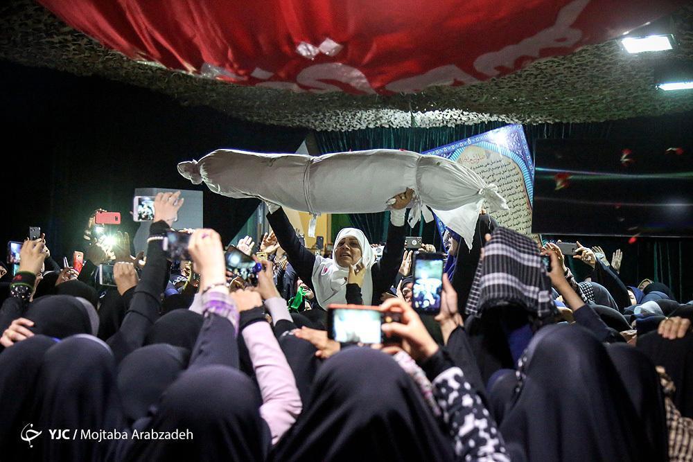برآورده شدن آرزوی برگزاری جشن دامادی شهید قربانخانی برای پدر و مادرش