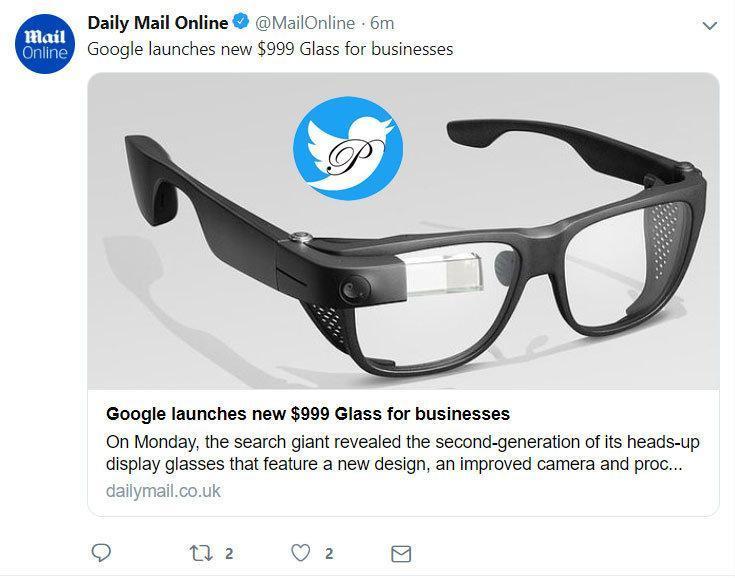 رونمایی گوگل از عینک هوشمند 999 دلاری برای کاربران بیزینس