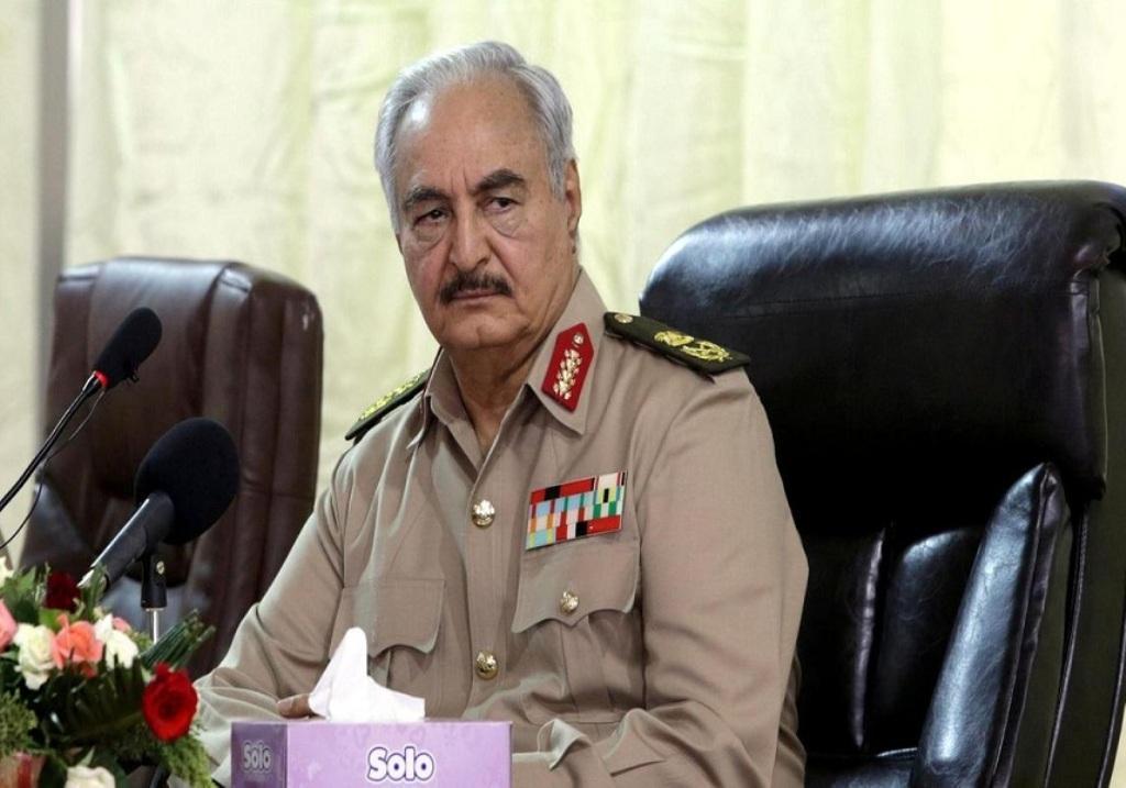 ژنرال حفتر با آتش بس در لیبی مخالفت کرد