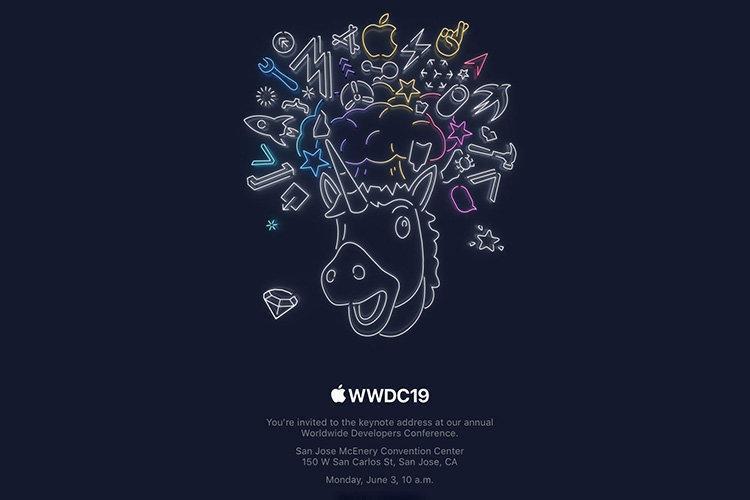 اپل دعوتنامه نطق اصلی WWDC 2019 را برای 13 خردادماه ارسال کرد
