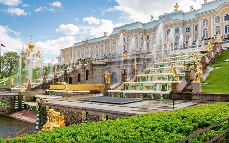 دیدنی های کاخ پترهوف در روسیه