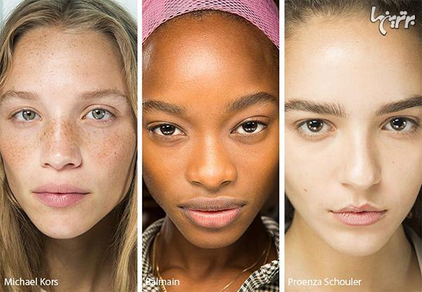 مدل های آرایش صورت برای بهار 2019