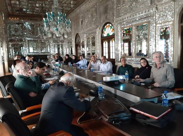 نشست تخصصی پایگاه های میراث جهانی قنات ایرانی و باغ ایرانی برگزار گردید