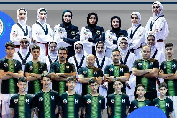 نونهالان تکواندو ایران روی سکوی قهرمانی آسیا