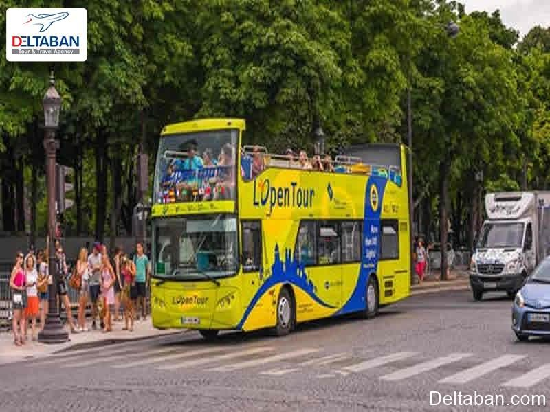 تور های اتوبوسی پاریس در فرانسه و ایستگاه های آن