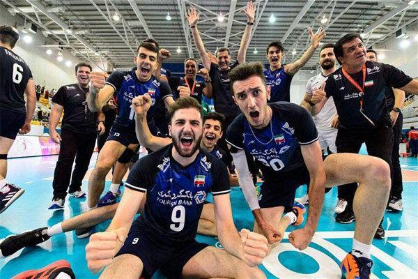 جوانان والیبال ایران صدرنشین رده بندی جهانی شدند