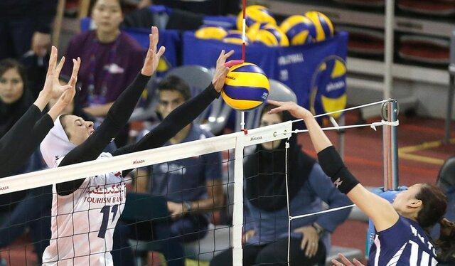 والیبال بانوان ایران به جمع 4 تیم برتر آسیا نرسید