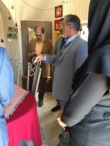 بازدید فرماندار بیرجند از نوروزگاه و بازارچه صنایع دستی