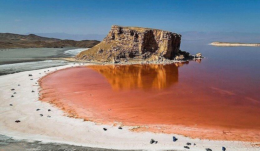 افزایش 2 میلیارد مترمکعبی حجم آب دریاچه ارومیه در یکسال
