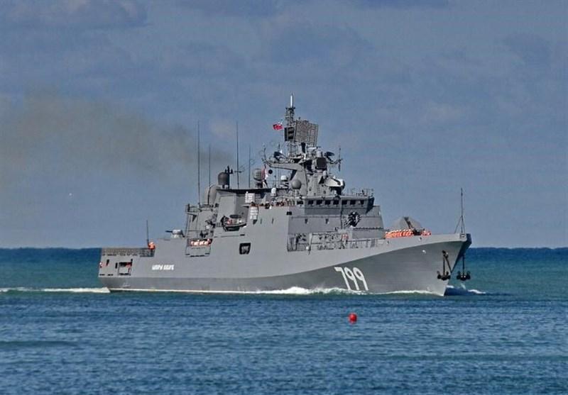 مانور مشترک روسیه-الجزایر در دریای مدیترانه