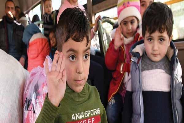 تداوم بازگشت آوارگان سوری از اردن
