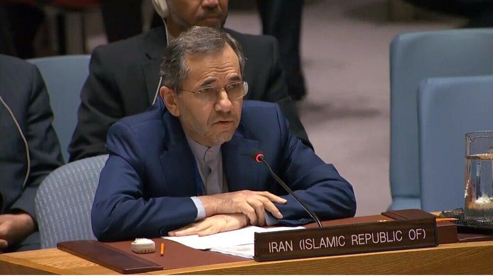 نماینده ایران در سازمان ملل شب گذشته در جلسه شورای امنیت چه گفت؟