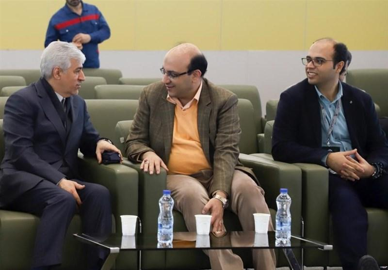 بازدید على نژاد و احمدی از مسابقات تای چی قهرمانی کشور