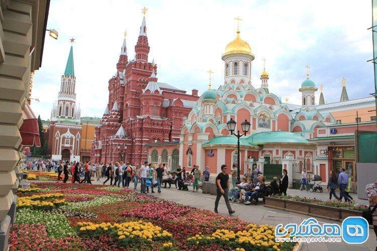آشنایی کوتاه با زیباترین جاذبه های گردشگری مسکو