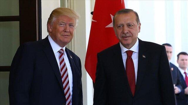 گفت وگوی تلفنی اردوغان و ترامپ درباره تحولات لیبی
