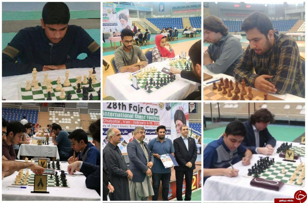 درخشش شطرنج بازان کرمانی در مسابقات بین المللی چابهار