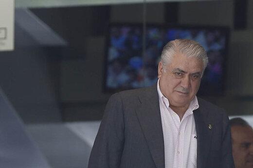 رئیس سابق رئال در آستانه مرگ به خاطر کرونا