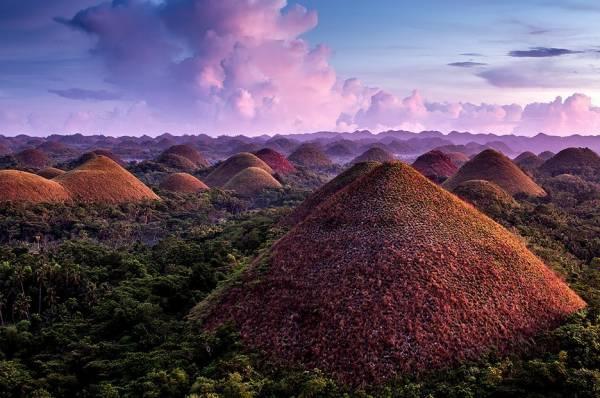 تپه های شکلاتی ، جاذبه جذاب گردشگری فیلیپین
