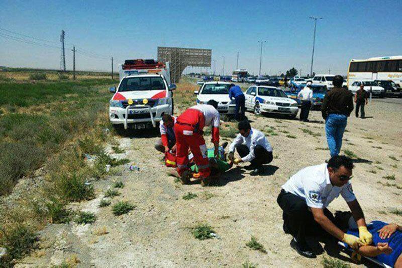 خبرنگاران 4 کشته و 5 زخمی حاصل تصادف جاده زابل- زاهدان