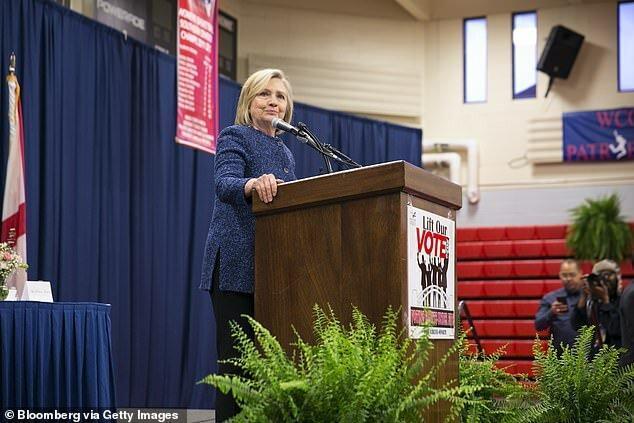 هیلاری کلینتون از جو بایدن در انتخابات 2020 حمایت کرد