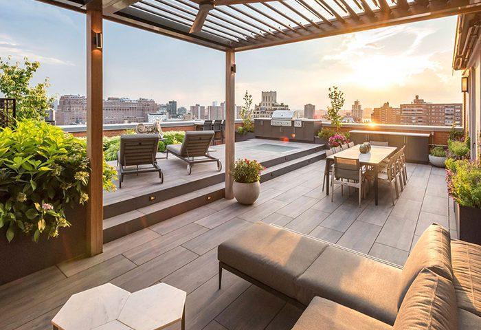 9 نکته مهم برای داشتن یک باغ زیبا در پشت بام منزل