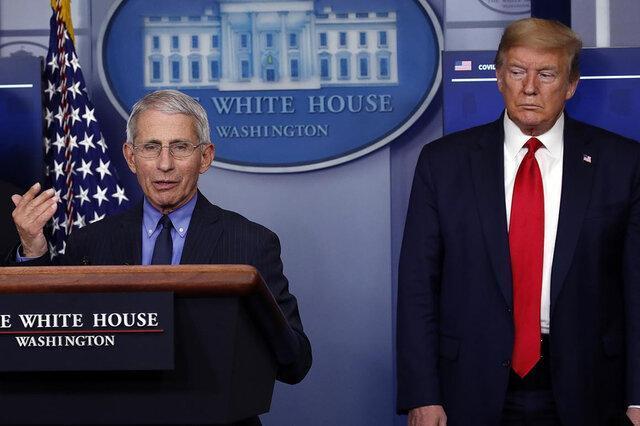 فائوچی: هیچ ارتباطی با ترامپ ندارم