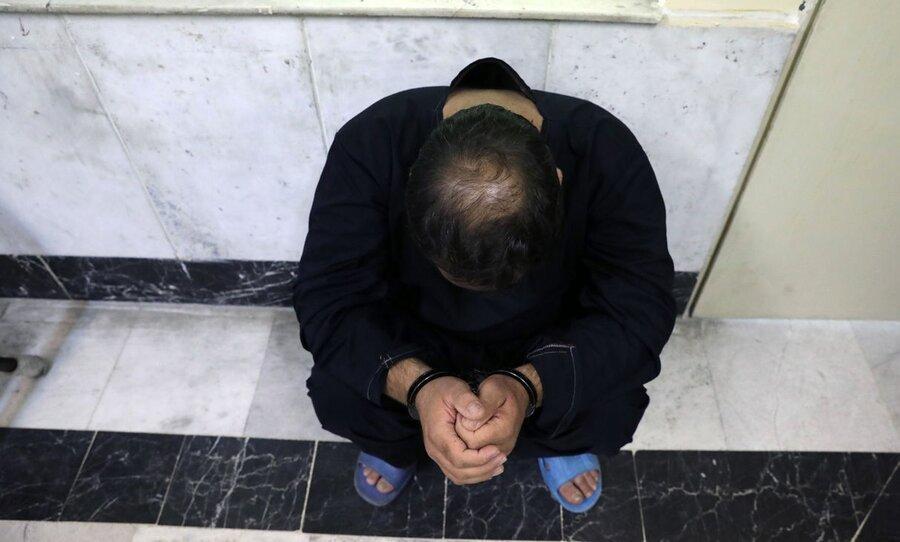 خاتمه فرار 27 ساله یک قاتل پس از قتل 4 مرد ، او در تهران تشکیل خانواده داده و مغازه داشت