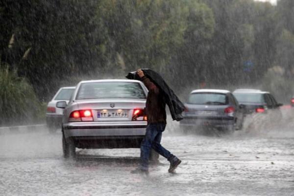 جو ناپایدار در اغلب مناطق کشور، وقوع وزش باد شدید و رگبار