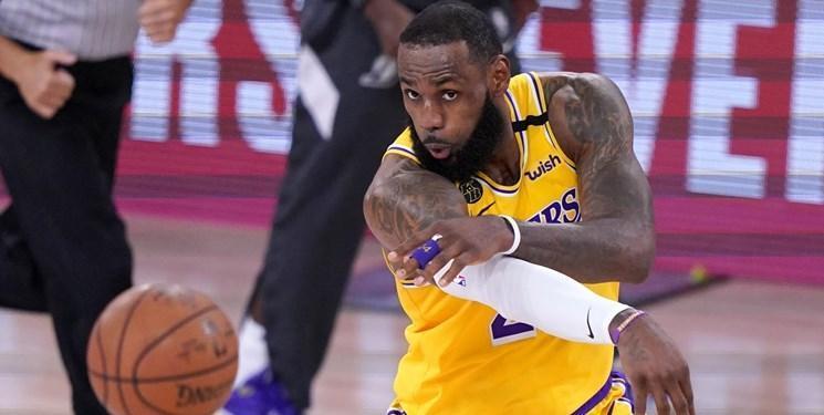 جیمز: هنوز کار برای قهرمانی NBA تمام نشده است
