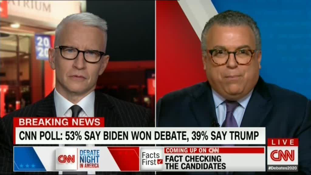 برنده آخرین مناظره ترامپ و بایدن کیست؟