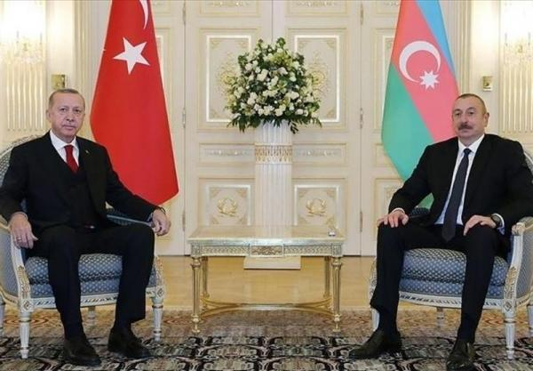 گفت وگوی تلفنی اردوغان و علی اف درباره بازسازی قره باغ