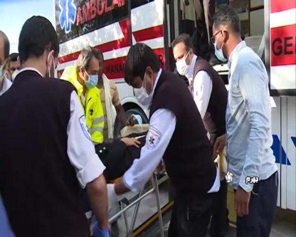 تصادف مینی بوس حامل کارگران در جهرم، 22 مصدوم برجای گذاشت