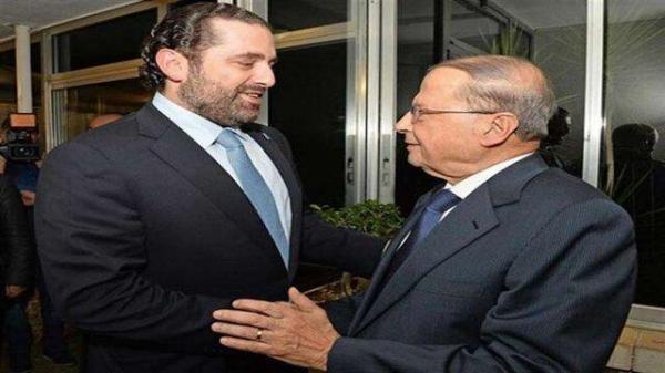 الحریری: منتظر پاسخ عون برای تشکیل دولت لبنان هستیم