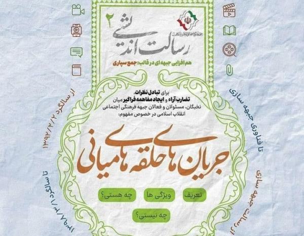 برگزاری همایش رسالت اندیشی کنشگران جبهه فرهنگی انقلاب اسلامی