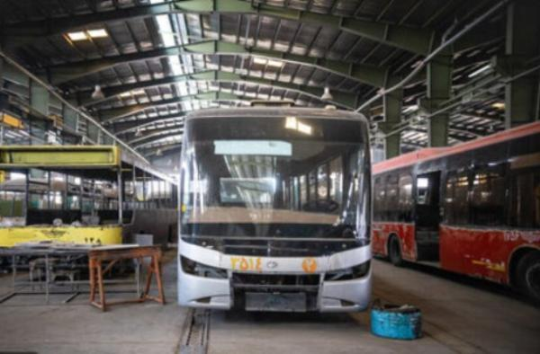 اتوبوس برقی دوشنبه رونمایی می گردد